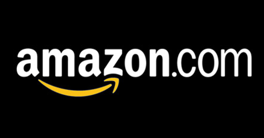 Amazon logo in black