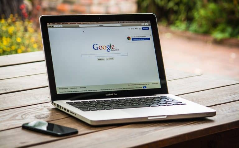 google business search on laptop lowaire