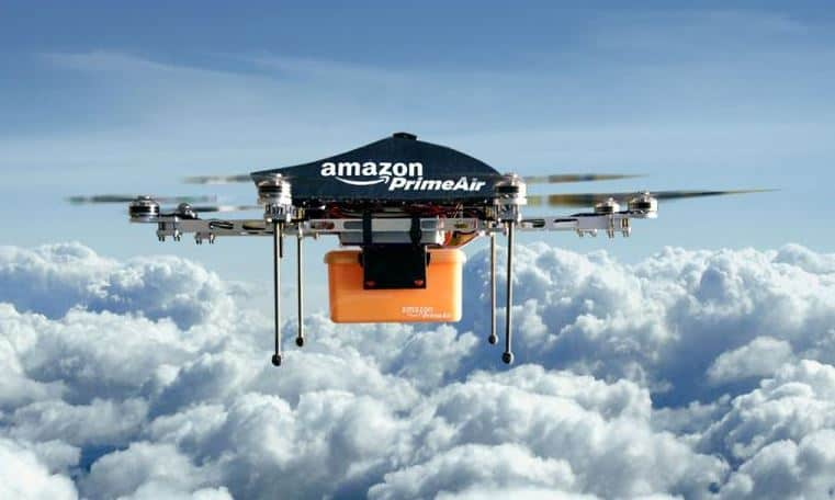 amazon drone testing prime air