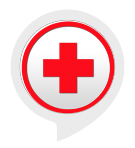 Red Cross in Red circle
