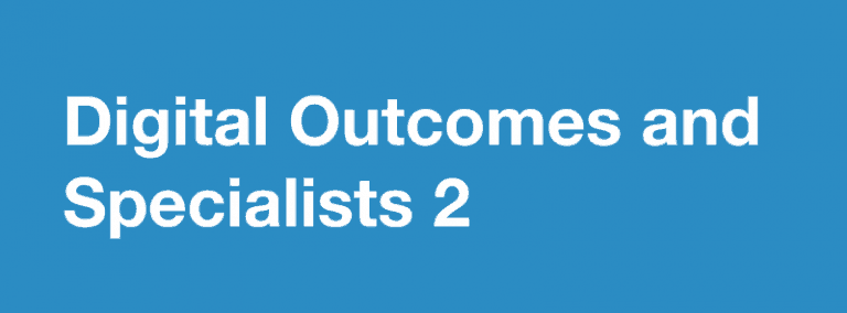 digital outcomes and specialist 2