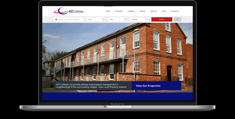 website portfolio item ast lettings