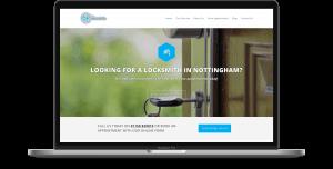 nottingham locksmiths website design