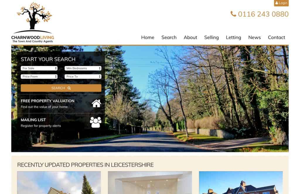 charnwood living portfolio image