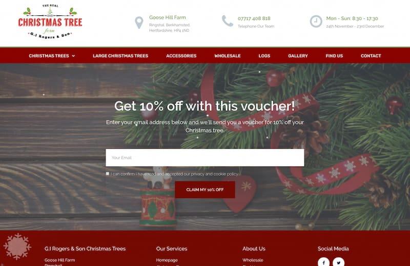 real christmas tree farm portfolio