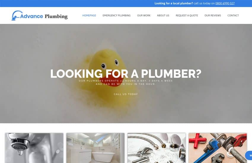 advance plumbing portfolio item