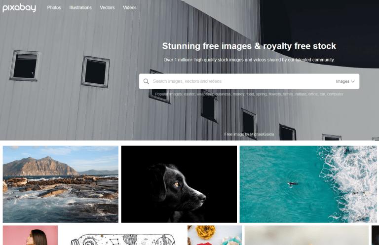pixabay screenshot