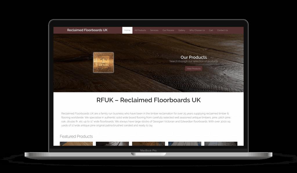 reclaimed floorboards macbook new