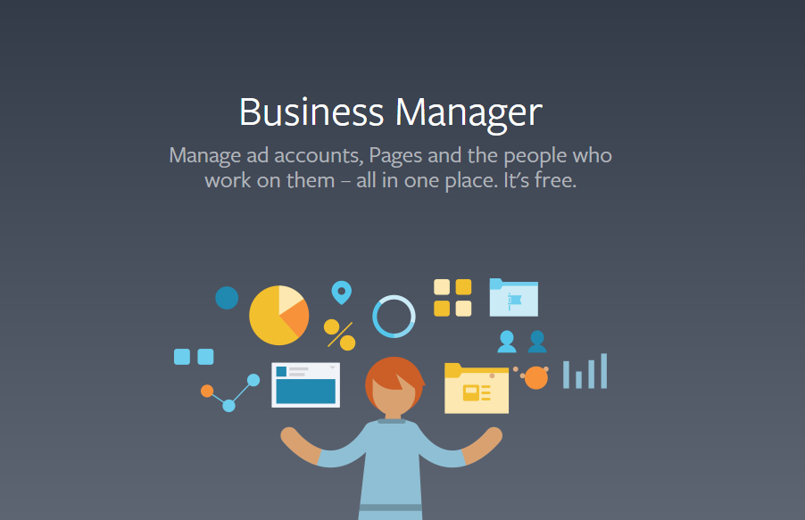 Facebook business manager image