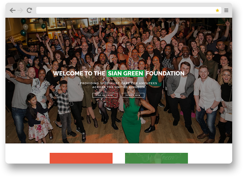 sian green web design