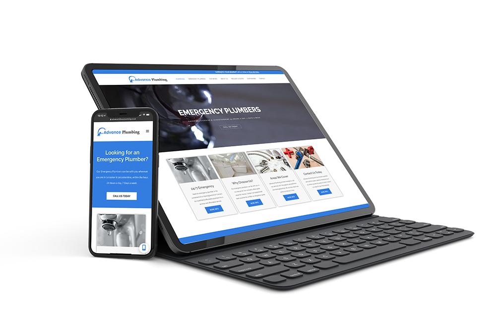advance portfolio website design