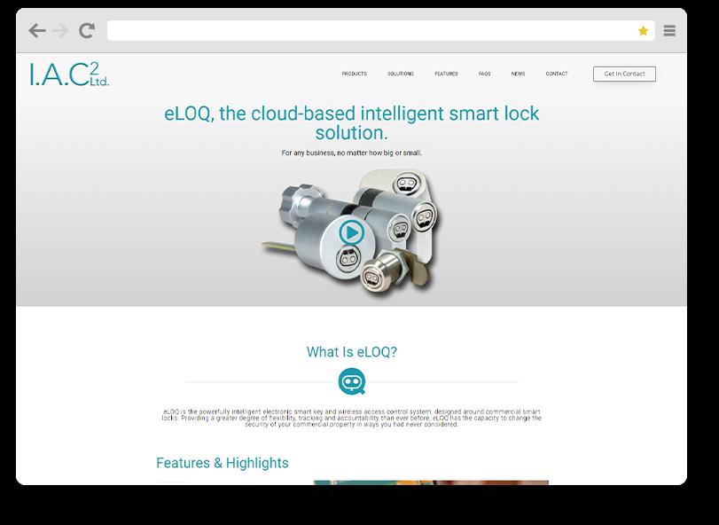 IAC2 website project