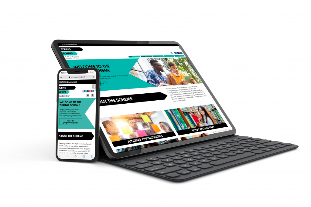 Turing Scheme Website Design Project