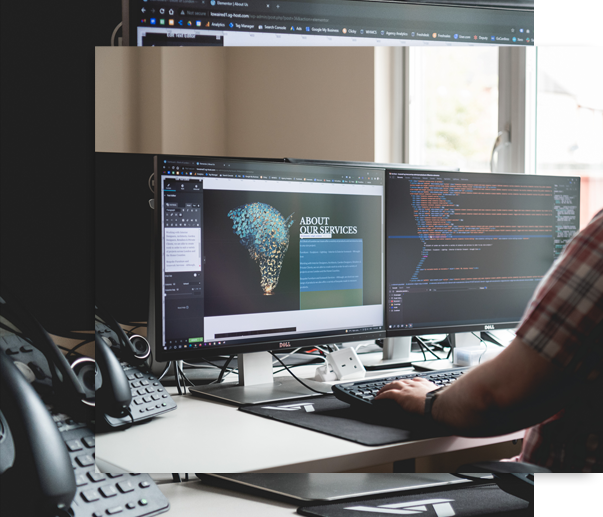 Website Design Coding and Design