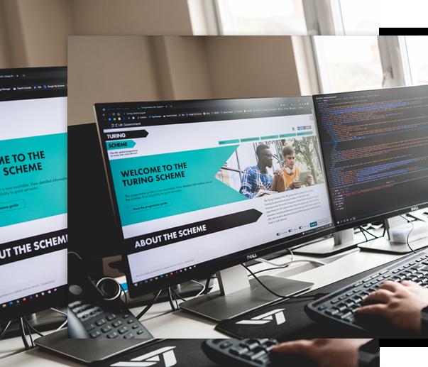 Lowaire Website design Turing Scheme